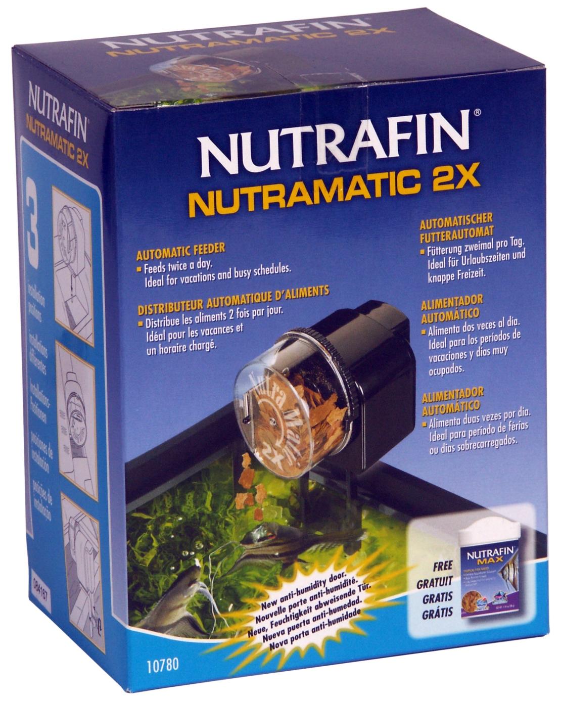 Nutrafin Nutramatic 2x Automatic Fish Feeder
