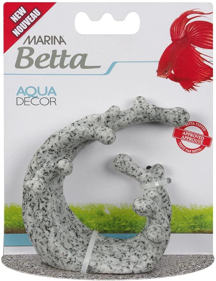 Marina Betta Granite Wave Aquarium Ornament