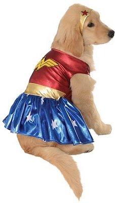 Rubie's Costume Company Wonder Woman Dog & Cat Costume, Small