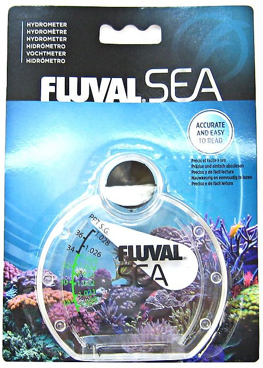 Fluval Sea Hydrometer for Aquariums, Medium