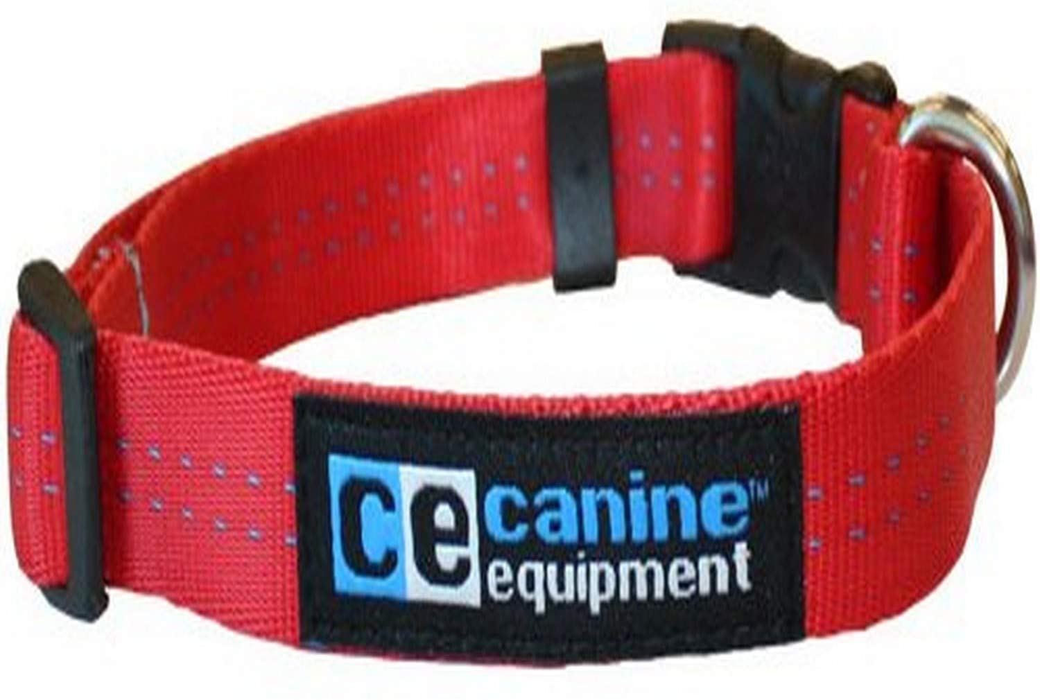 RC Pet Products Canine Equipment Technika Utility Dog Collar, Red, Small