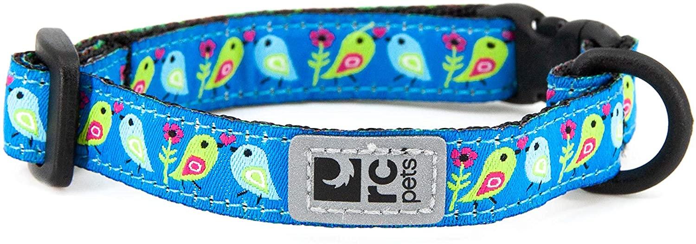 RC Pet Products Kitty Breakaway Collar 8-10 in, Love Birds
