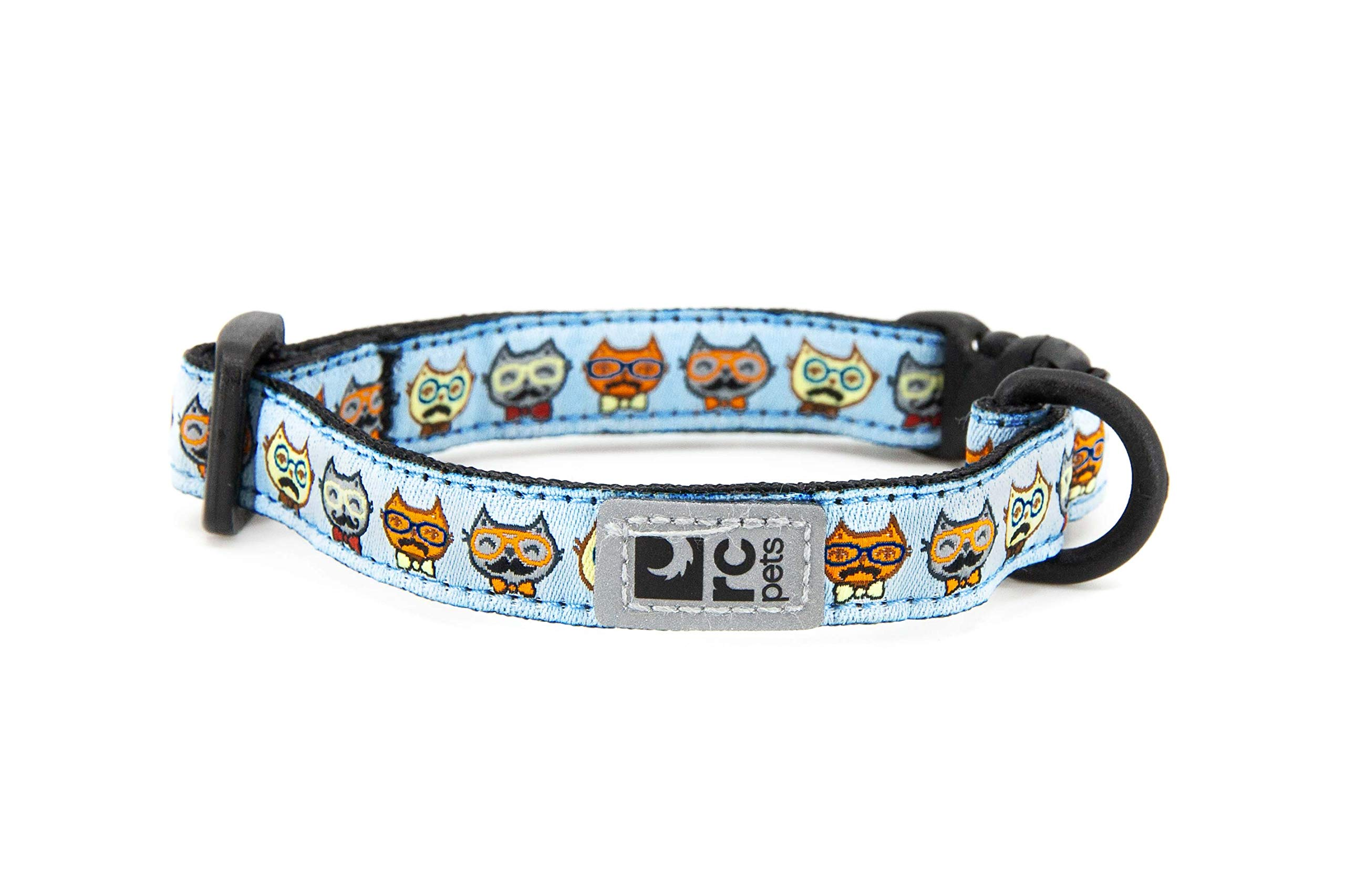 RC Pet Products Kitty Breakaway Collar 8-10 in, Meowstache