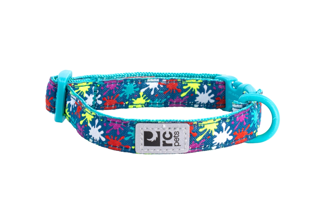 RC Pet Products Kitty Breakaway Collar 8-10 in, Splatter
