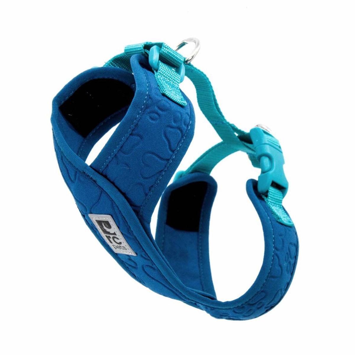 RC Pet Products Swift Comfort Dog Harness, Darl Teal/Teal, Small