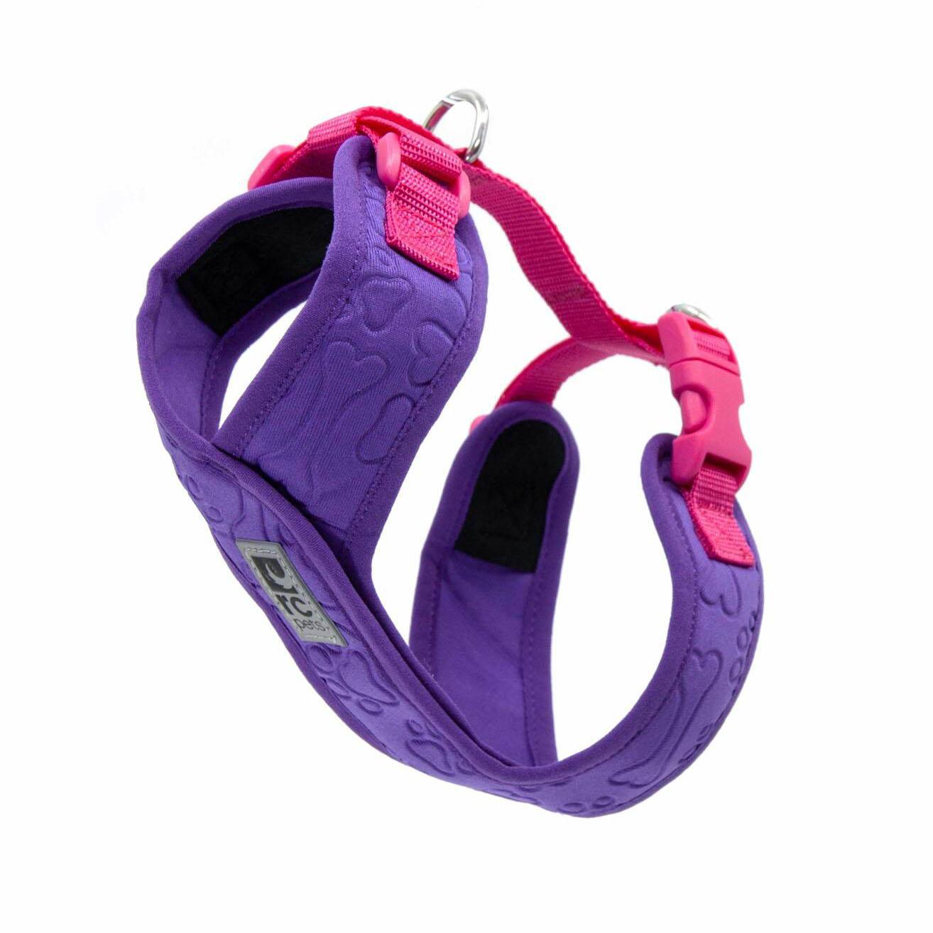 RC Pet Products Swift Comfort Dog Harness, Purple/Pink, XX-Small