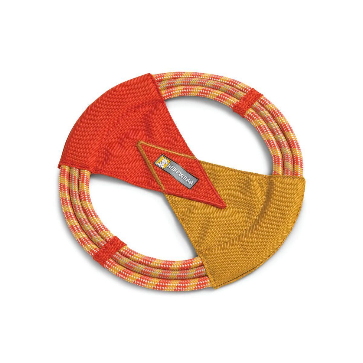 Ruffwear Pacific Ring Disc Dog Fetch Toy, Sockeye Red