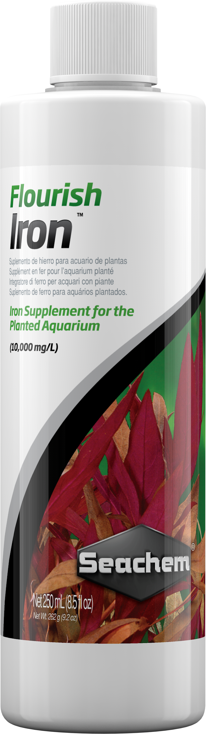 Seachem Flourish Iron for Aquarium Plants, 250-mL