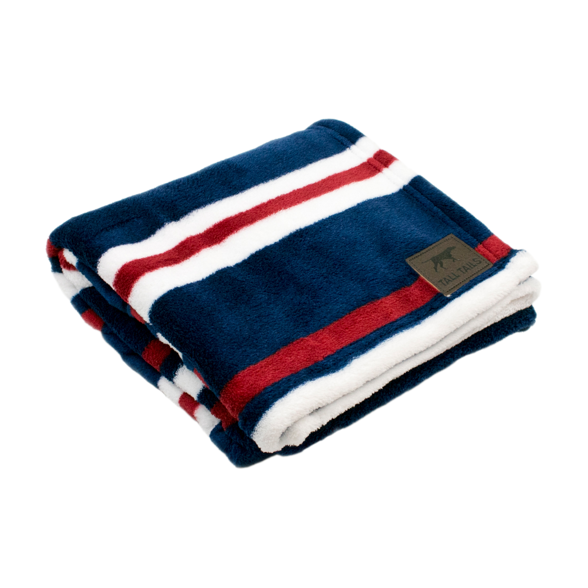 Tall Tails Nautical Stripe Dog Blanket, 30x40 (Size: 30x40) Image
