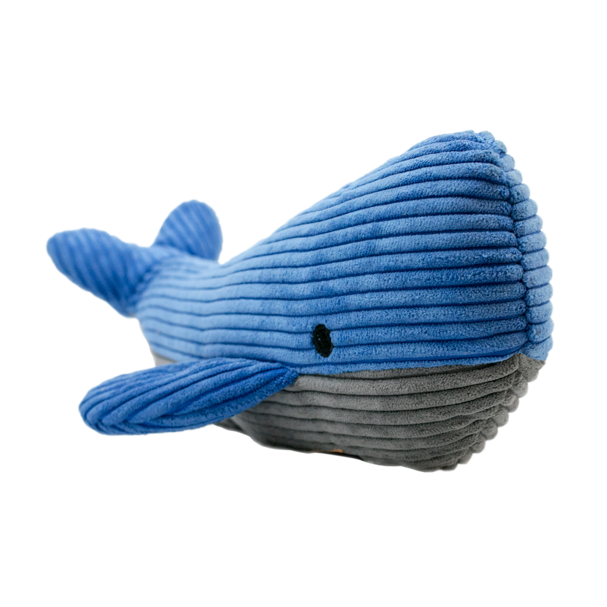 Tall Tails Whale with Squeaker Dog Toy, 12-in.
