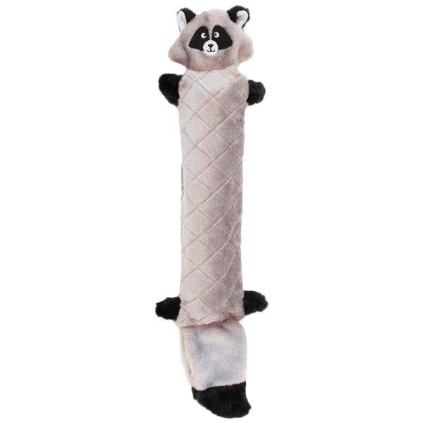 ZippyPaws Jigglerz Raccoon Dog Toy