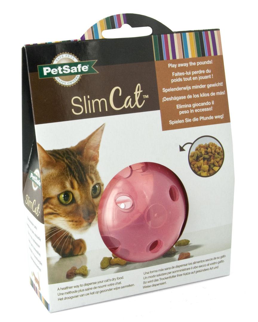 PetSafe SlimCat Interactive Cat Toy, Pink