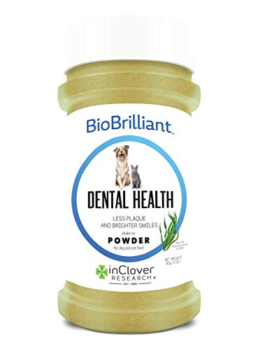 In Clover BioBrilliant Dental Health Powder for Dogs and Cats, 85g