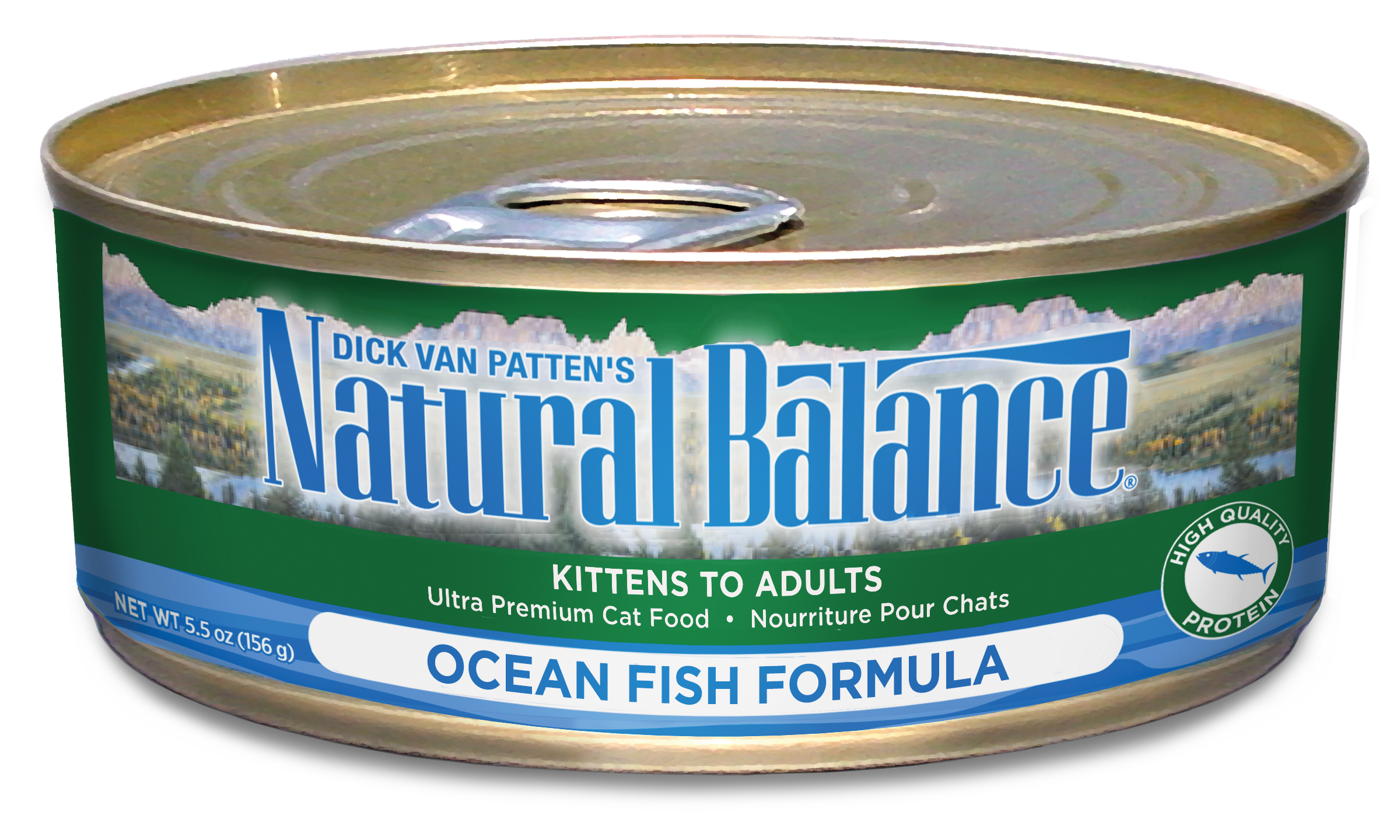 Natural Balance Ocean Fish, Canned Cat Food, 5.5-oz can