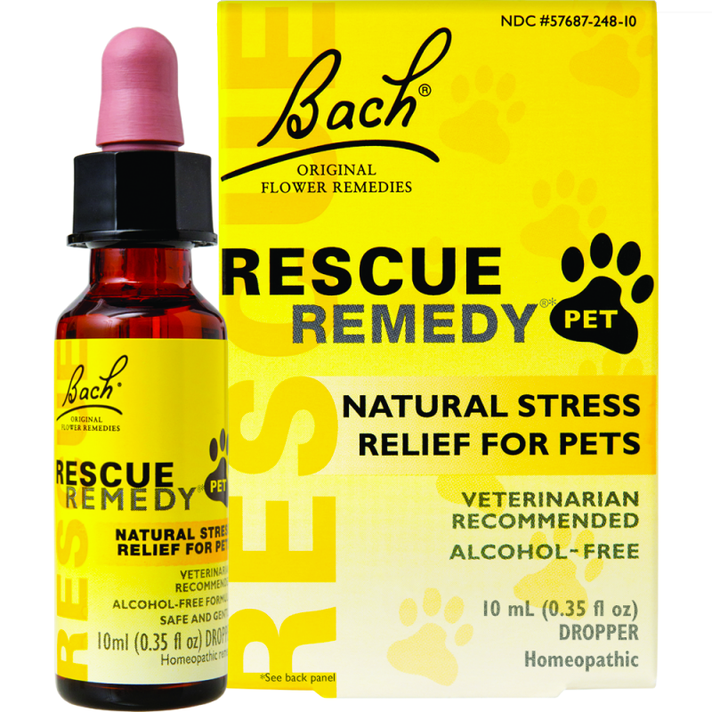 Rescue Remedy Pet Natural Flower Extract Stress-Relief Liquid, 10-ml