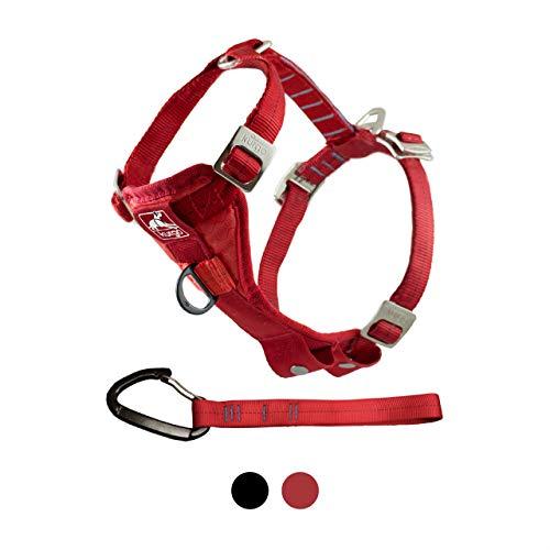 Kurgo Tru-Fit Enhanced Strength Smart Dog Harness, Red, X-Large
