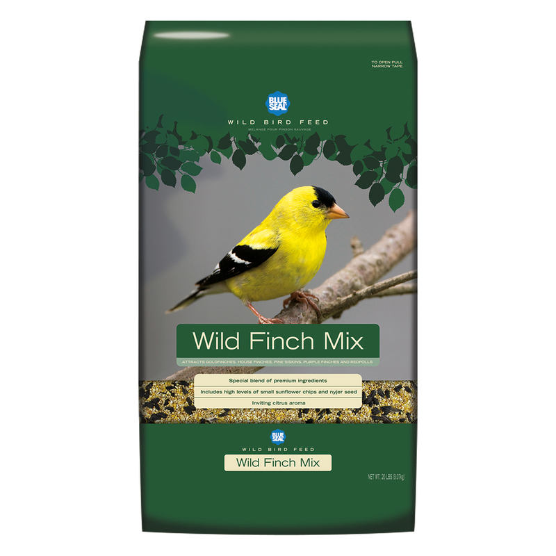 Blue Seal Birder's Secret Wild Finch Mix Wild Bird Food, 20-lb