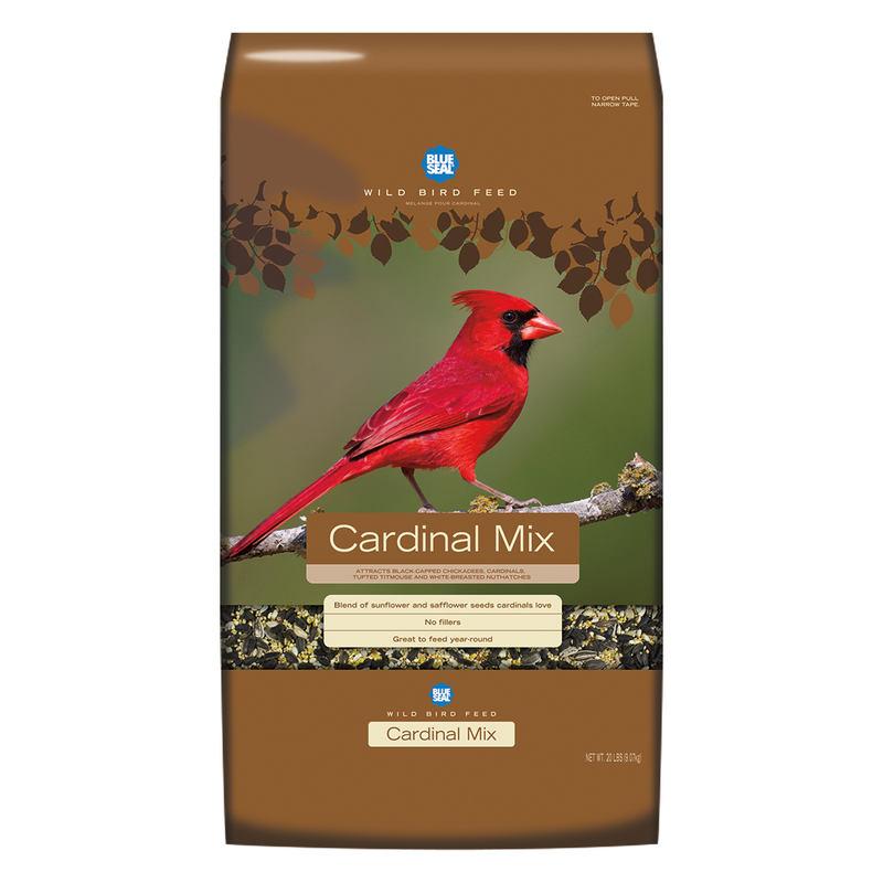 Blue Seal Birder's Secret Cardinal Mix Wild Bird Food, 20-lb
