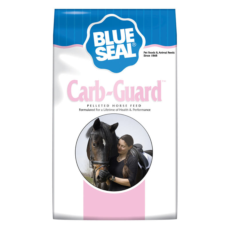 Blue Seal Carb-Guard Pelleted Equine Feed, 50-lb