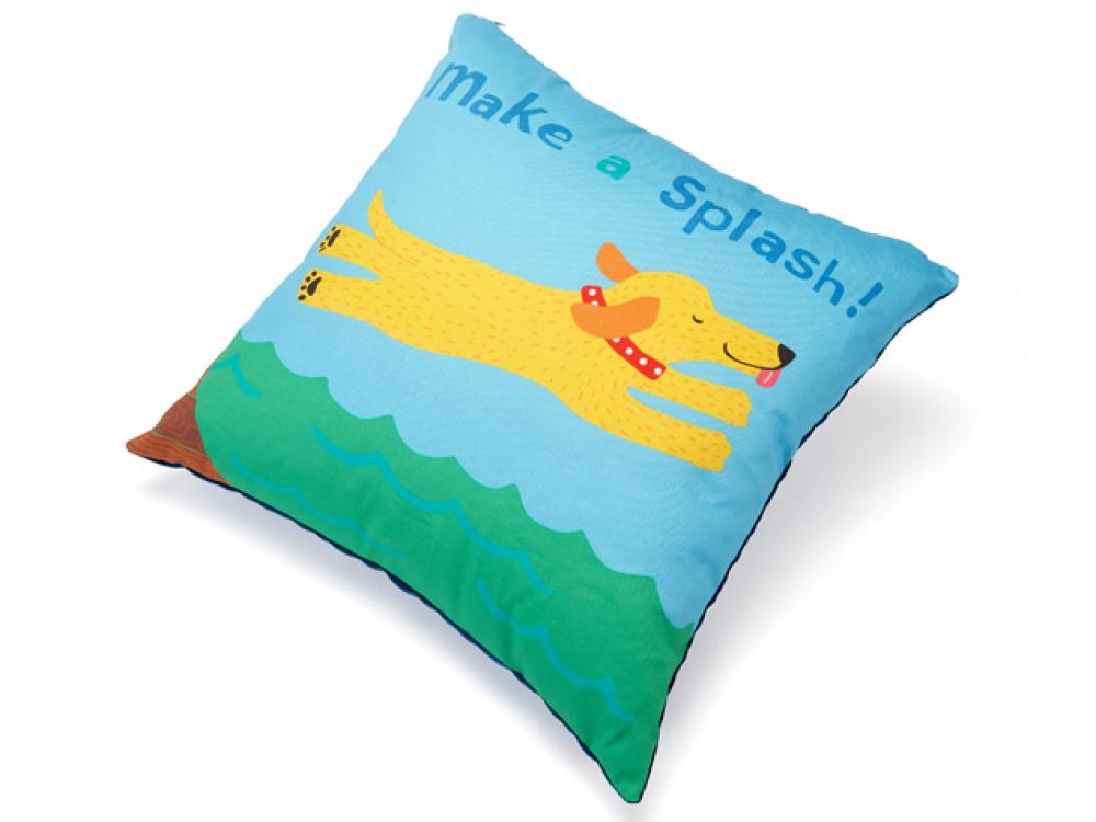 Up Country Make a Splash Decorative Pillow, 18-in x 18-in
