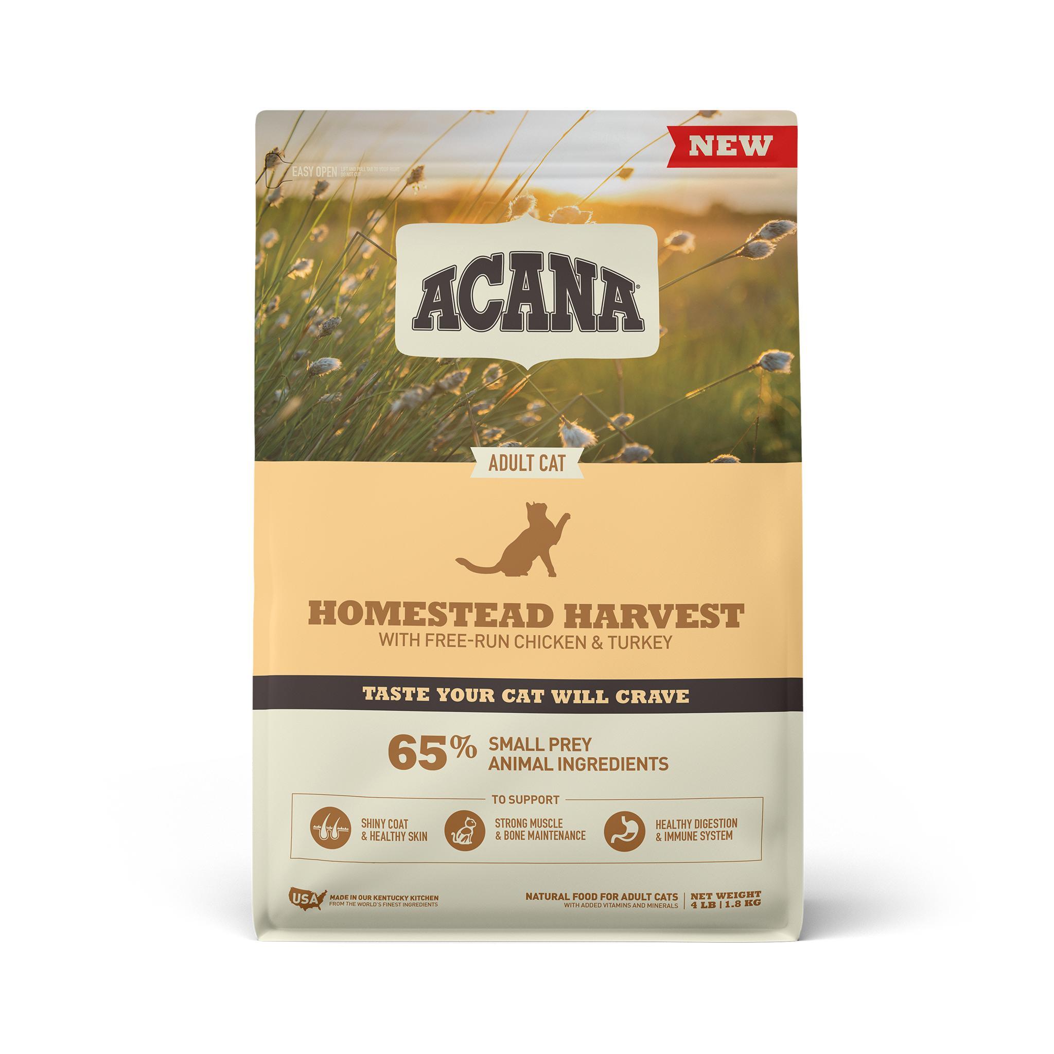ACANA Homestead Harvest Dry Cat Food, 4-lb