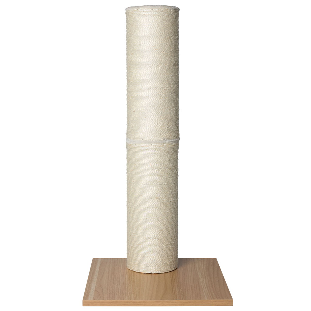 BeOneBreed Natural Sisal Scratching Post for Cats