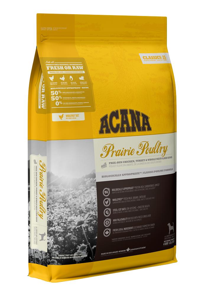 Acana Classics Prairie Poultry Dry Dog Food, 17-kg