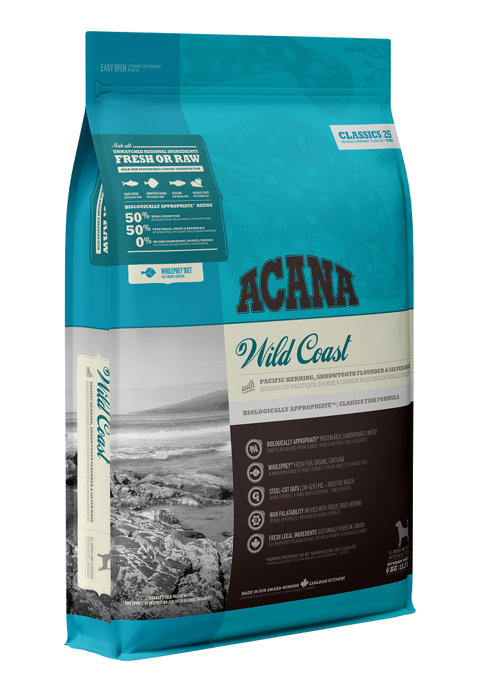 Acana Classics Wild Coast Dry Dog Food, 2-kg