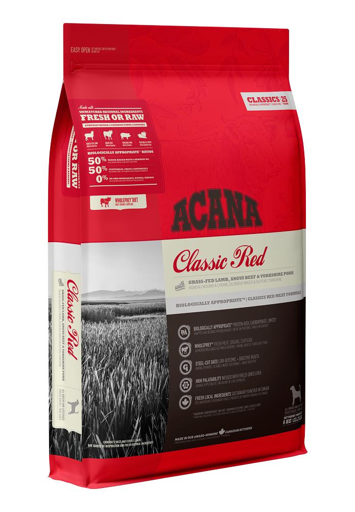 Acana Classics Red Dry Dog Food, 6-kg