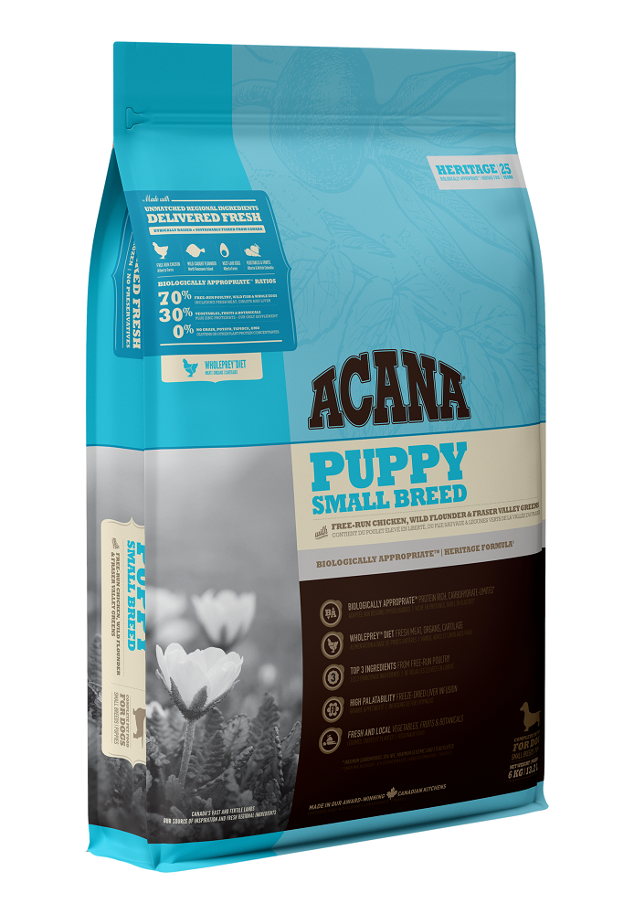 Acana Puppy Small Breed Dry Dog Food, 2-kg