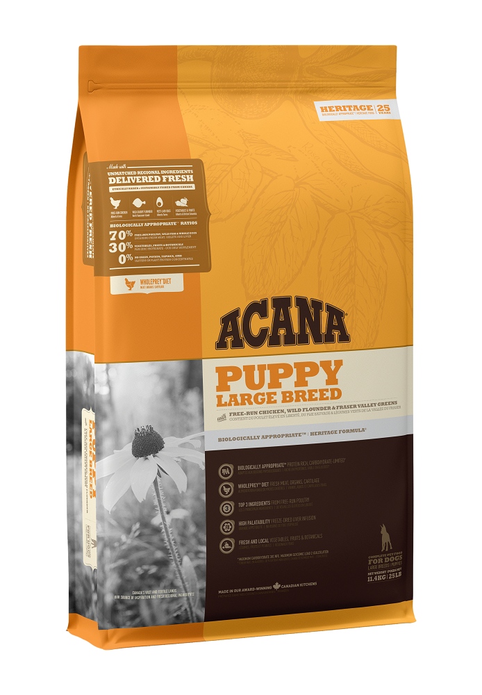 Acana Puppy Large Breed Dry Dog Food, 11.4-kg