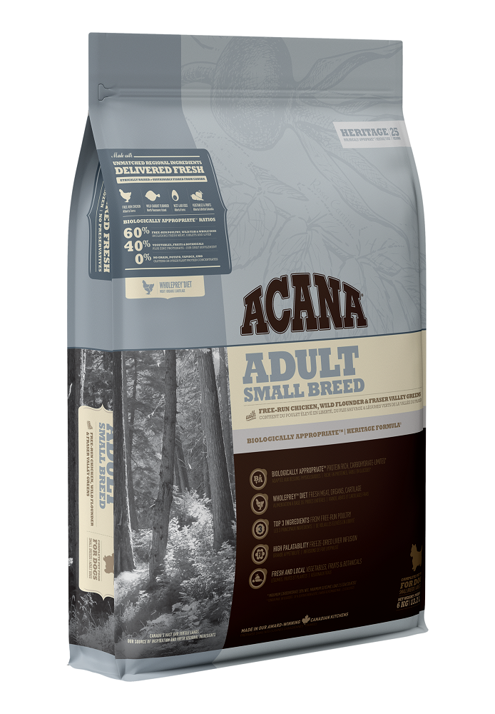 Acana Adult Small Breed Dry Dog Food, 6-kg
