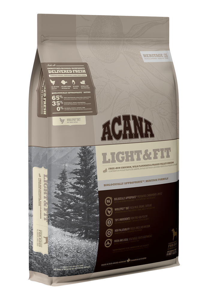 Acana Light & Fit Dry Dog Food Image