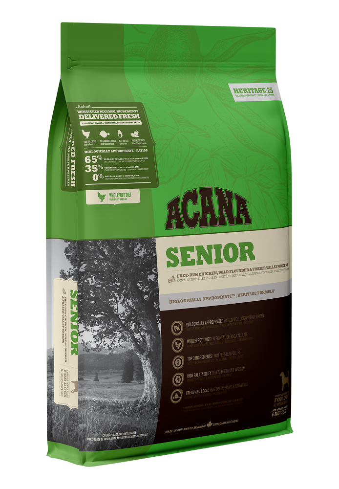 Acana Senior Dry Dog Food, 2-kg