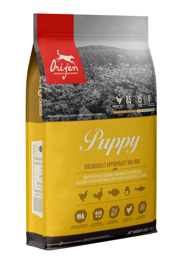 Orijen Puppy Dry Dog Food, 6-kg