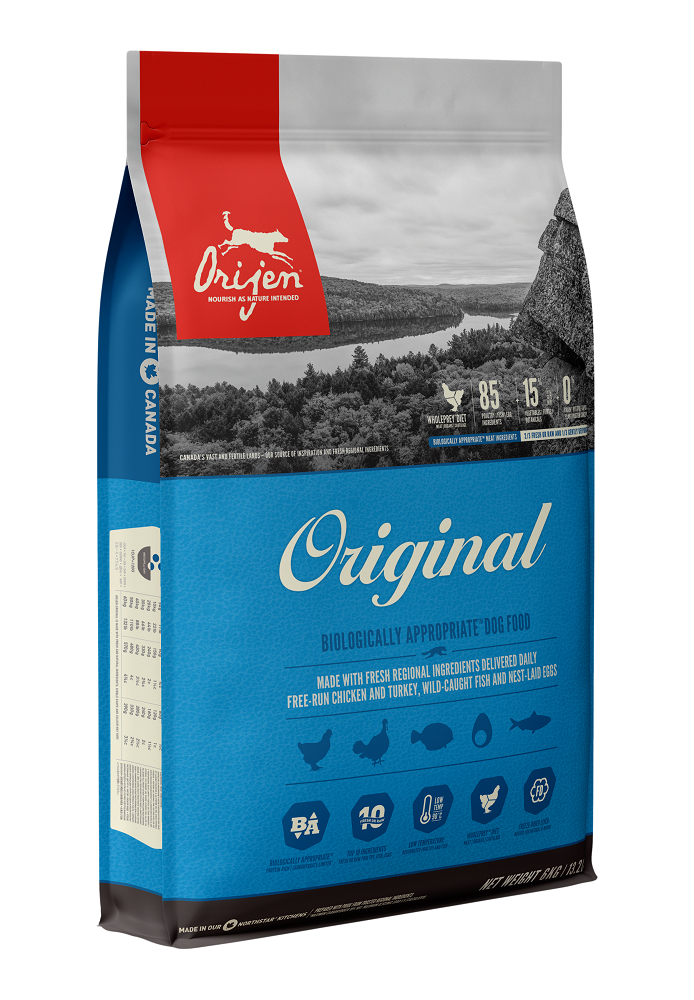 Orijen Original Dry Dog Food, 11.4-kg