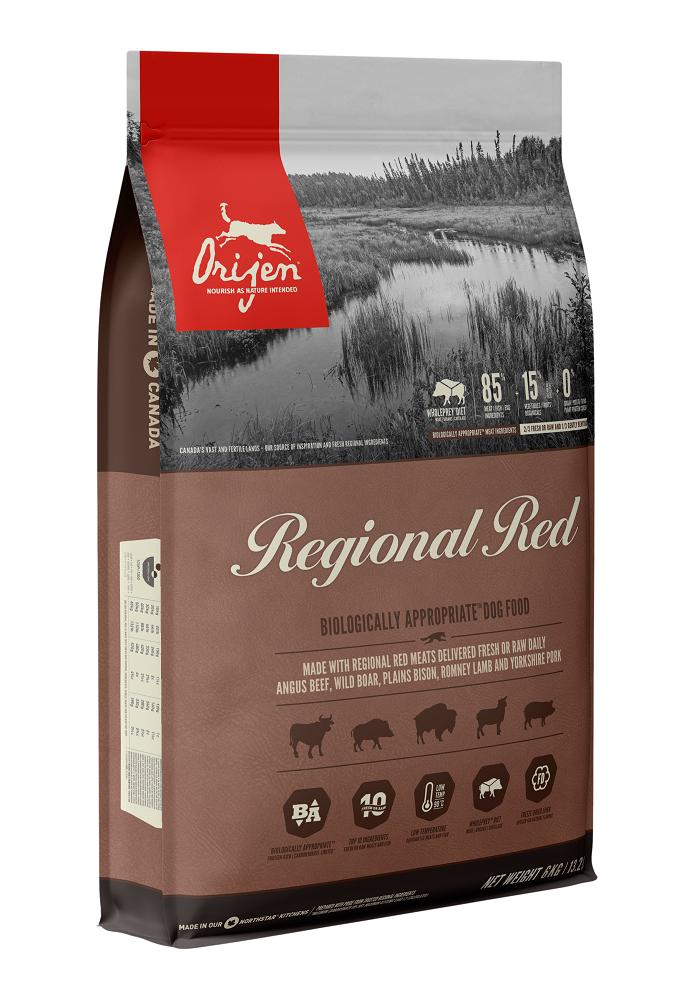 Orijen Regional Red Dry Dog Food, 2-kg