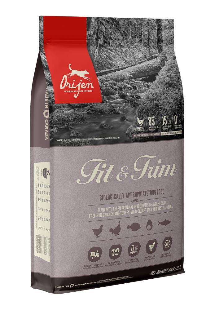 Orijen Fit & Trim Dry Dog Food, 11.4-kg