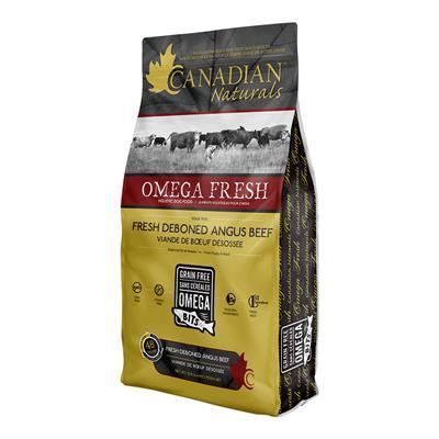 Canadian Naturals Omega Fresh Deboned Angus Beef Dry Dog Food, 25-lb