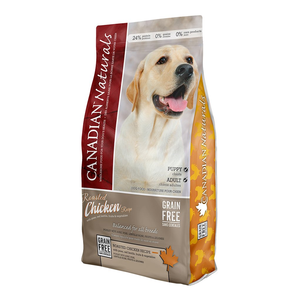 Canadian Naturals Roasted Chicken Grain-Free Dry Dog Food, 25-lb