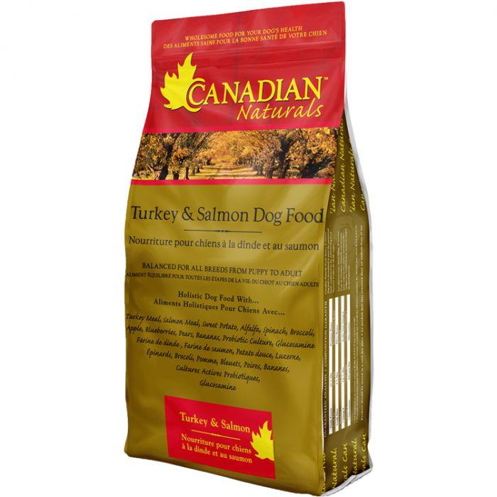 Canadian Naturals Original Turkey & Salmon Dry Dog Food, 30-lb