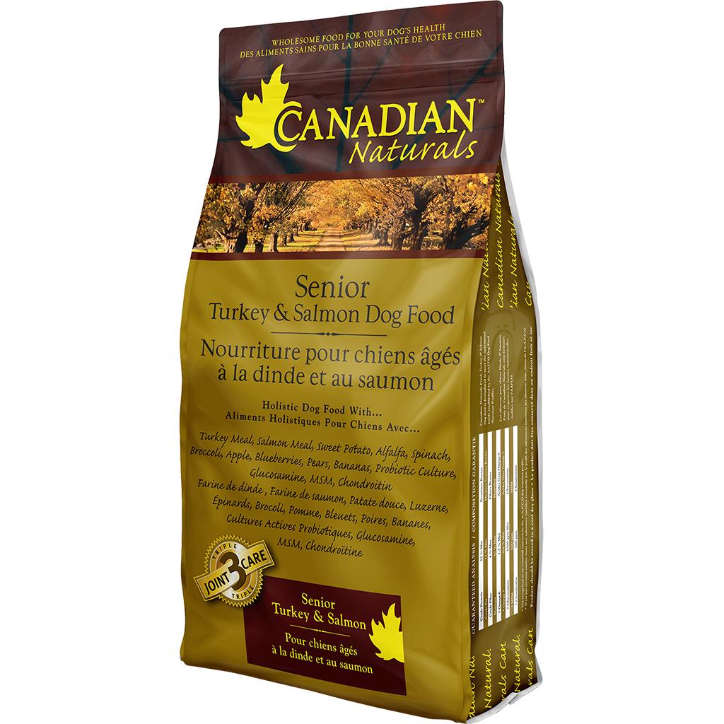 Canadian Naturals Original Turkey & Salmon Senior Dry Dog Food, 30-lb