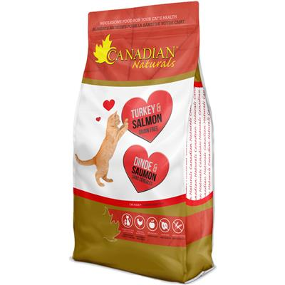 Canadian Naturals Turkey & Salmon Grain-Free Dry Cat Food, 3-lb
