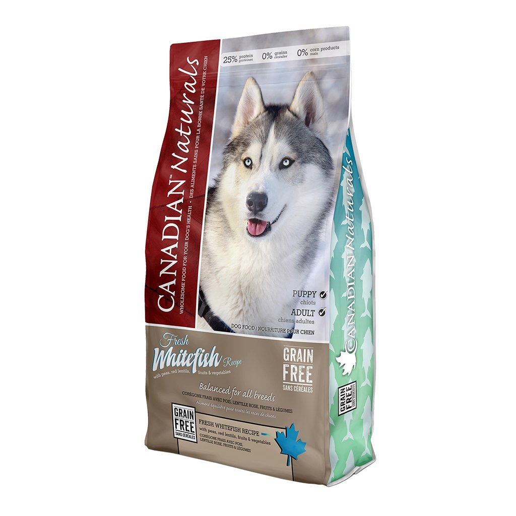 Canadian Naturals Whitefish Grain-Free Dry Dog Food, 25-lb