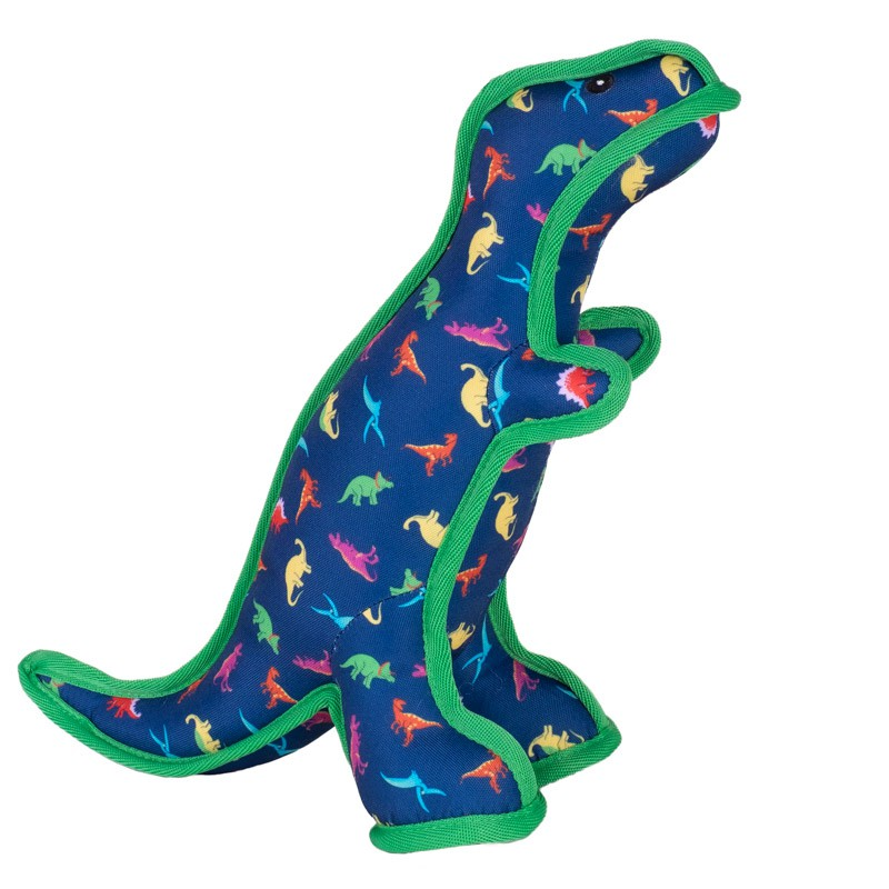 The Worthy Dog Dino Dog Toy, Small