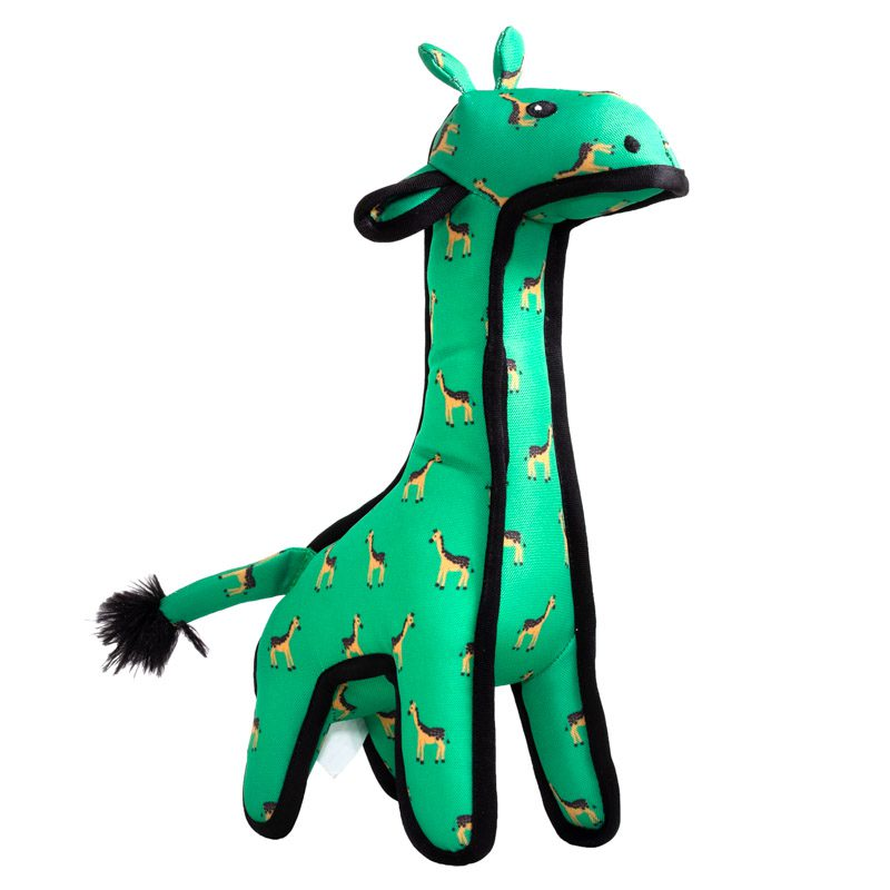 The Worthy Dog Geoffrey Giraffe Dog Toy, Large