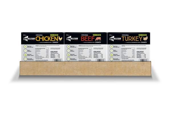Iron Will Raw Meal Deal K9 Buffet Frozen Dog Food, 18-lb
