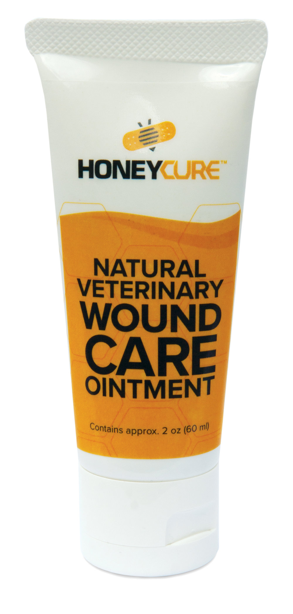 HoneyCure Natural Veterinary Wound Care Pet Ointment, 1-oz tube