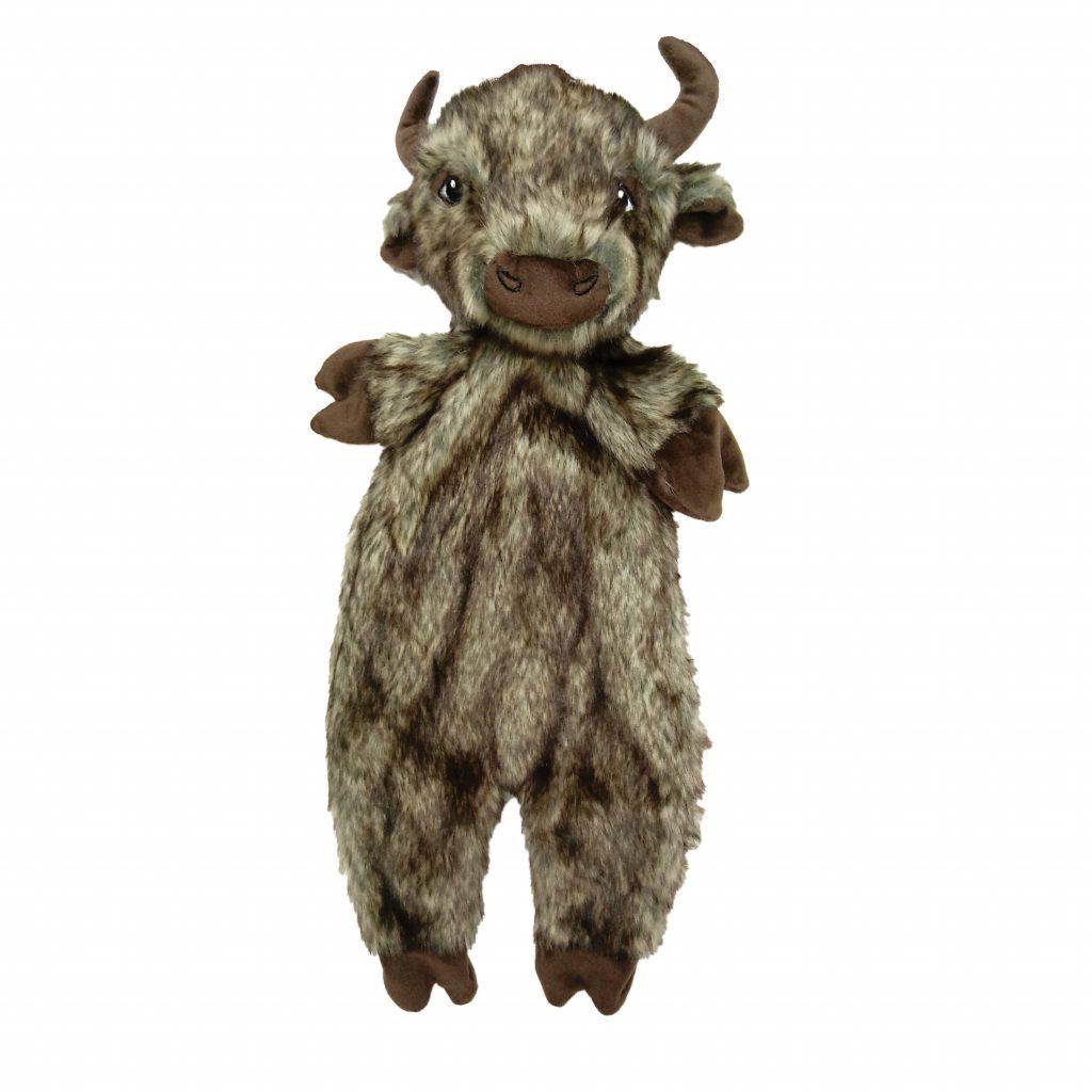 Ethical Pet Spot Furzz Buffalo Dog Toy, 20-in