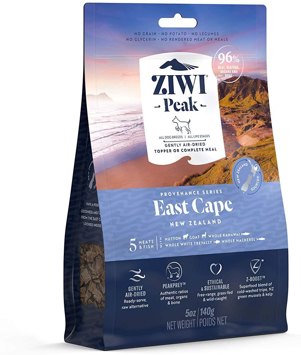 Ziwi Peak Dog East Cape Recipe Air-Dried Dog Food, 4-lb